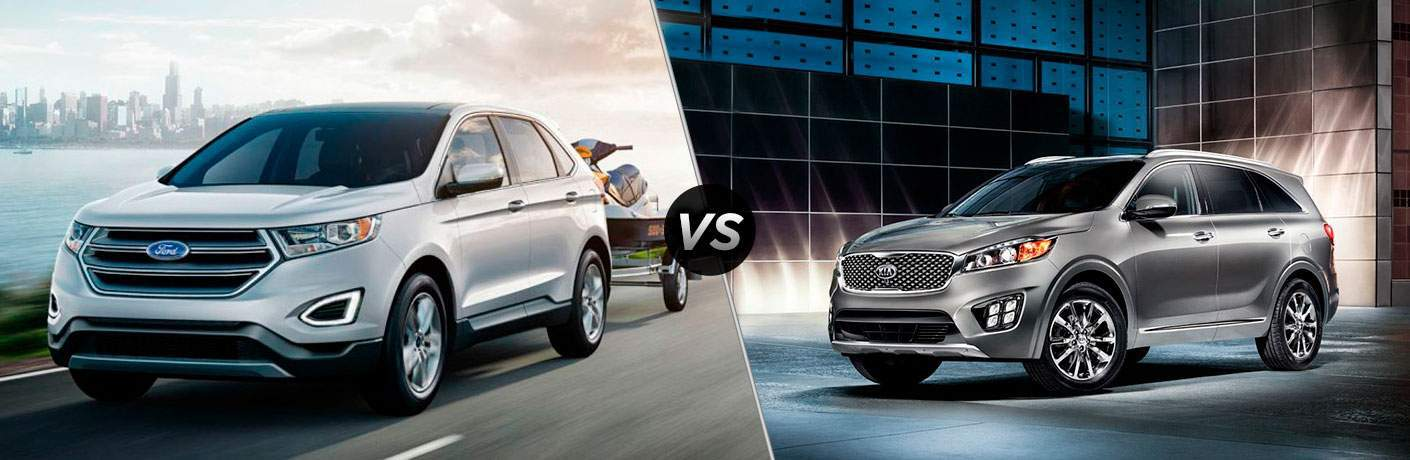 2017 Ford Edge vs 2017 Kia Sorento