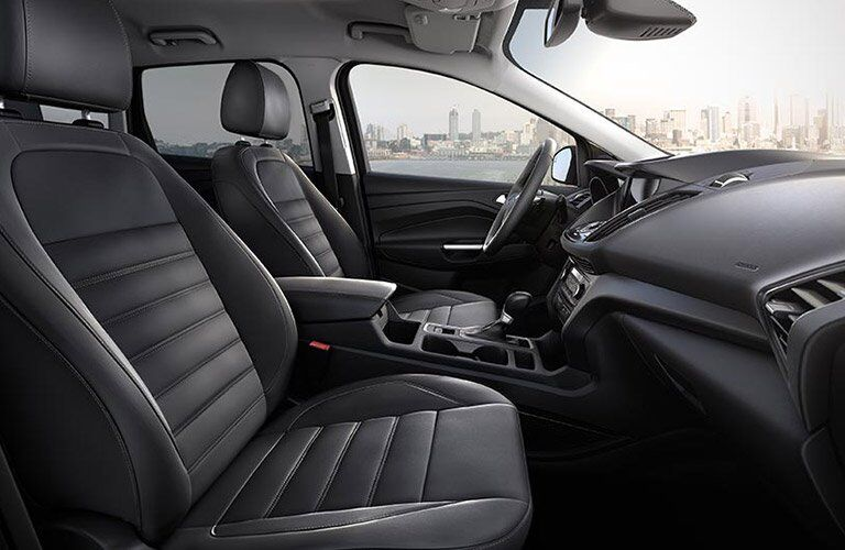 2017 Ford Escape front interior passenger space