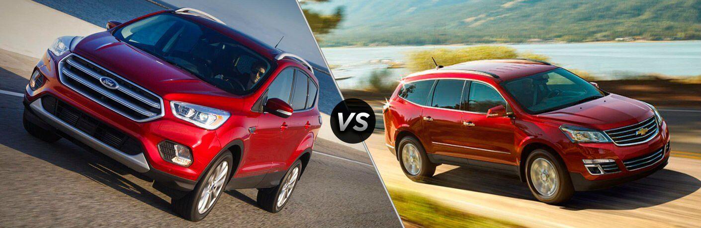 2017 Ford Escape vs 2017 Chevrolet Traverse