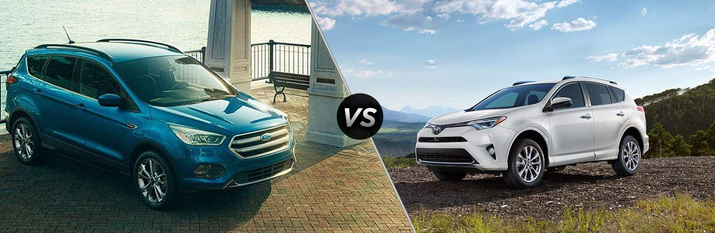 2017 Ford Escape vs 2017 Toyota RAV4