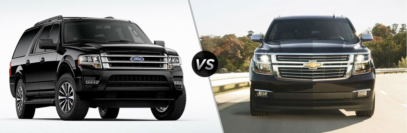 2017 Ford Expedition vs 2017 Chevrolet Suburban