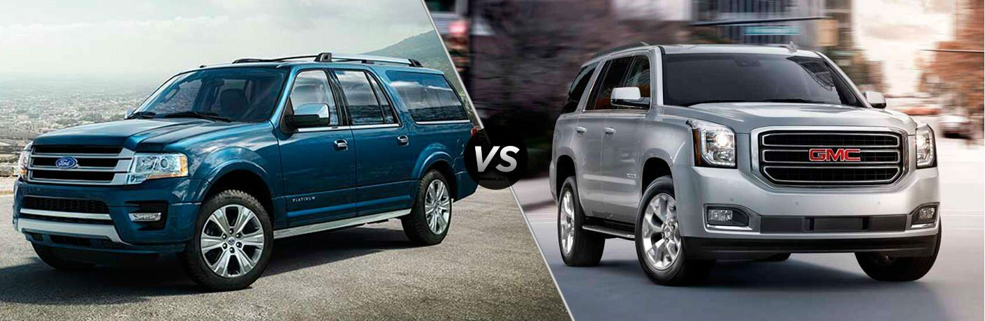 2017 Ford Expedition vs 2017 GMC Yukon