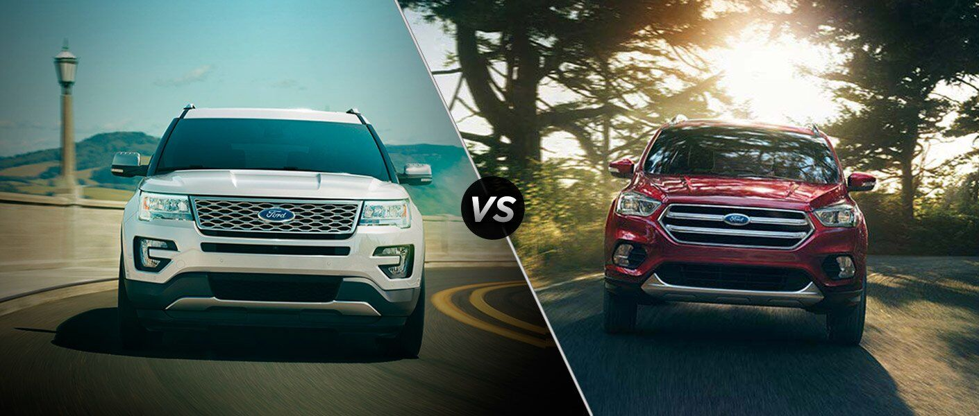 2017 Ford Explorer vs 2017 Chevrolet Equinox