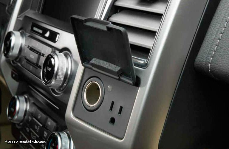 2017 Ford F-150  power ports