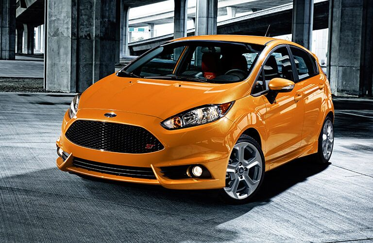 2017 Ford Fiesta ST in ornage
