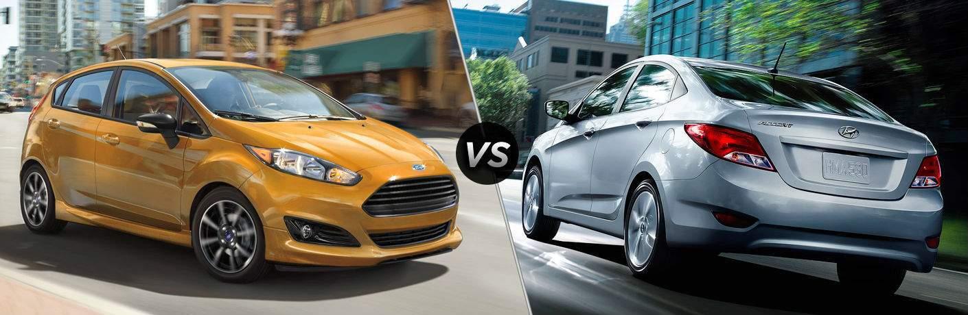 2017 Ford Fiesta Hatchback vs 2017 Hyundai Accent Hatchback