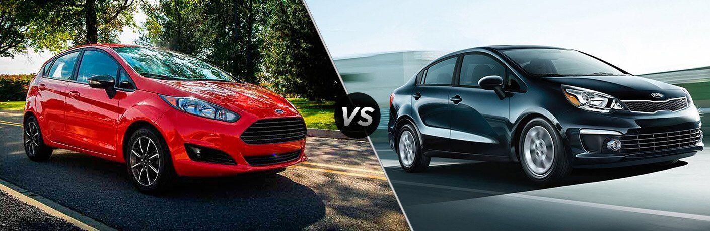 2017 Ford Fiesta vs 2017 Kia Rio