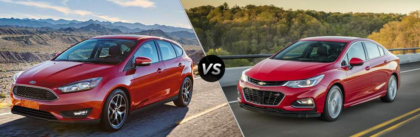 2017 Ford Focus vs 2017 Chevrolet Cruze