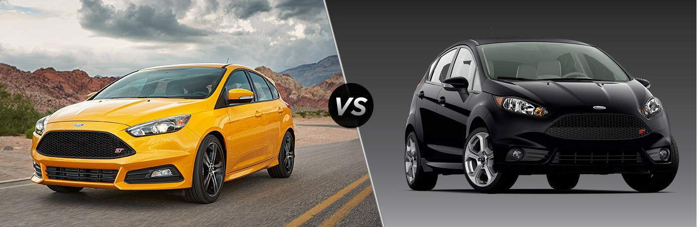 2017 Ford Focus vs 2017 Ford Fiesta