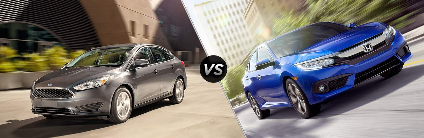 2017 Ford Focus vs 2017 Honda Civic