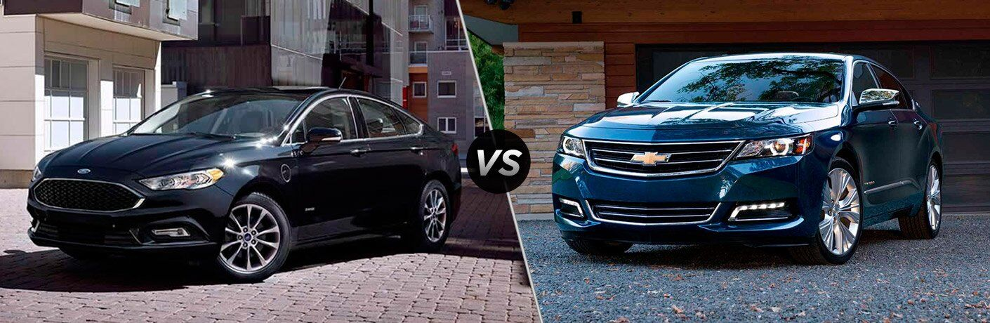 2017 Ford Fusion vs 2017 Chevrolet Impala