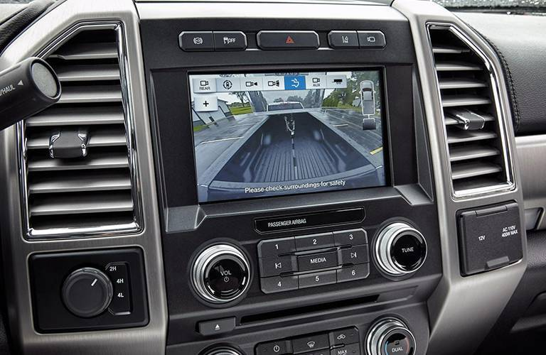 2017 Ford Super Duty rearview camera