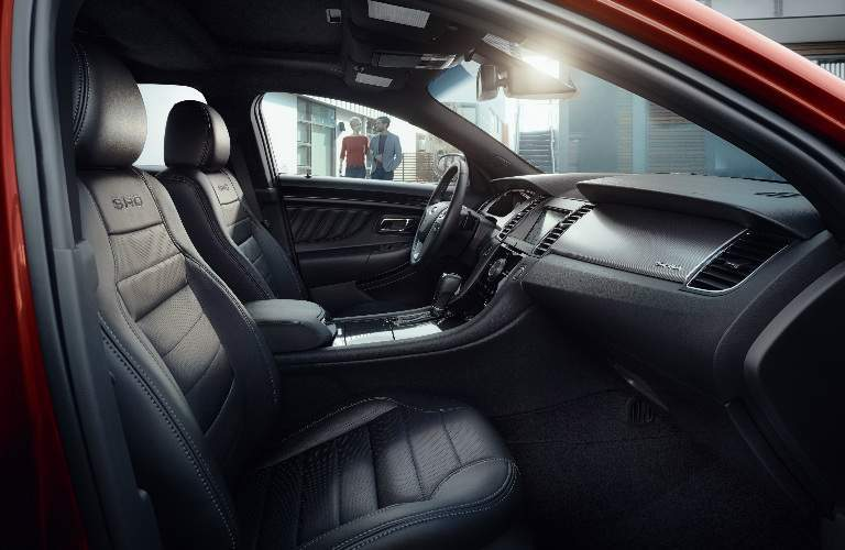 2017 Ford Taurus front interior passenger space