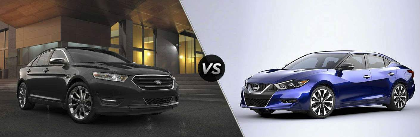 2017 Ford Taurus vs 2017 Nissan Maxima