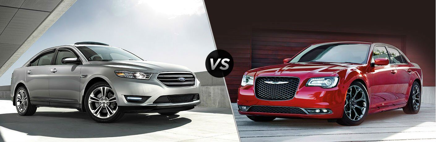 2017 Ford Taurus vs 2017 Chrysler 300