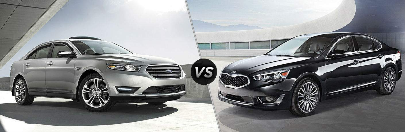 Kia Dealership Tampa >> 2017 Ford Taurus vs 2017 Kia Cadenza