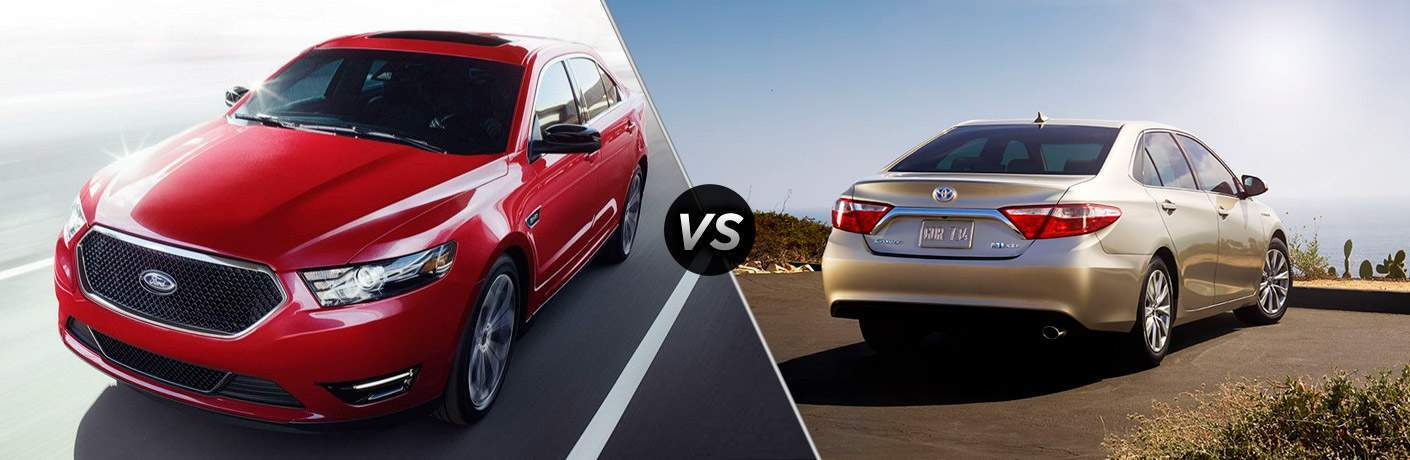 2017 Ford Taurus vs 2017 Toyota Camry