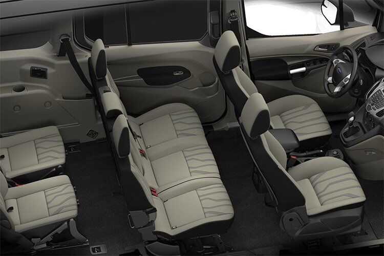 2017 Ford Transit Connect full interior passenger space