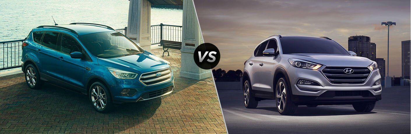 2017 Ford Escape vs 2017 Hyundai Tucson