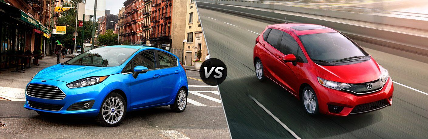 2017 Ford Fiesta Hatchback vs 2017 Honda Fit
