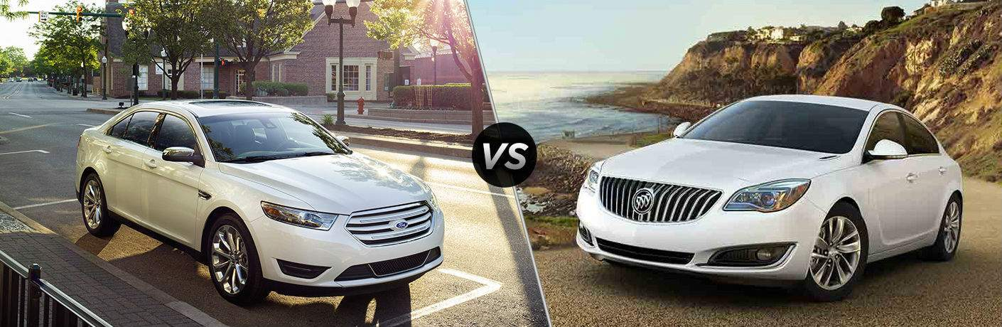 2017 Ford Taurus vs 2017 Buick Regal
