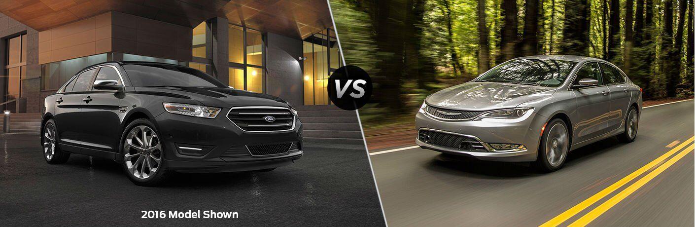2017 Ford Taurus vs 2017 Chrysler 200