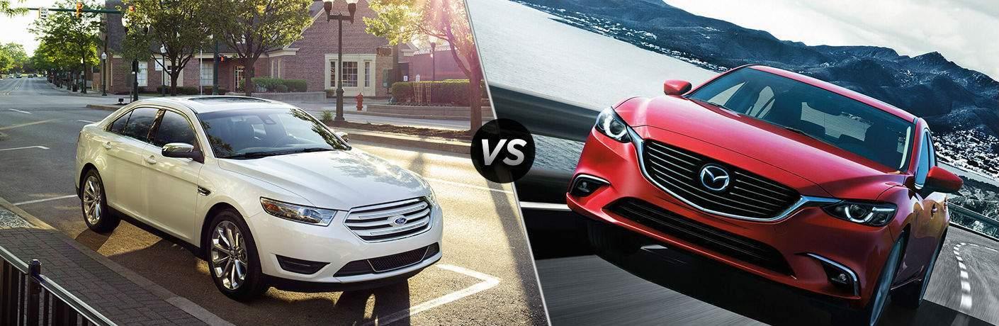 2017 Ford Taurus vs 2017 Mazda6