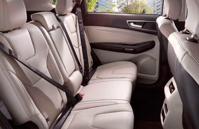 2017 Ford Edge rear interior passenger space