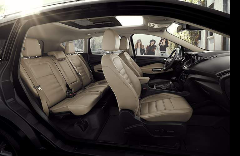 2017 Ford Escape full interior passenger space