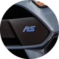 2017 Ford Focus RS Ford Perfroamnce Badge