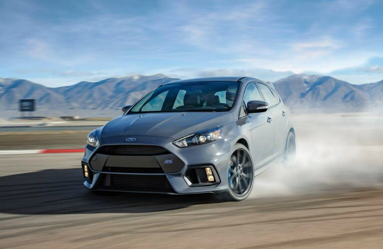 2017 Ford Focus RS drifting