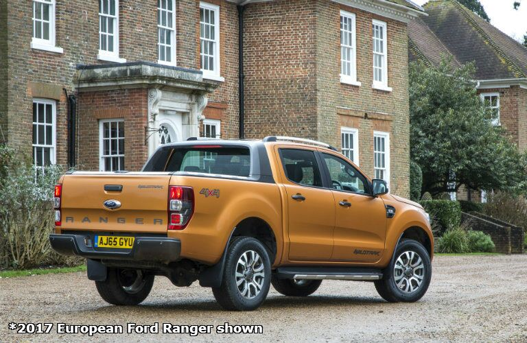 2017 Ford Ranger european version side view