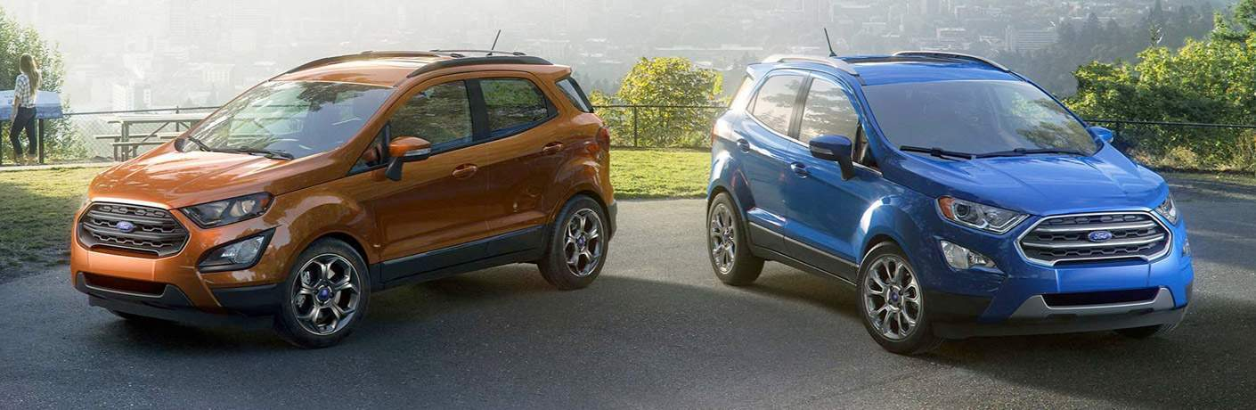 a pair of used 2018 Ford EcoSport models