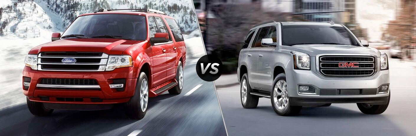 2018 Ford Expedition vs 2019 GMC Yukon