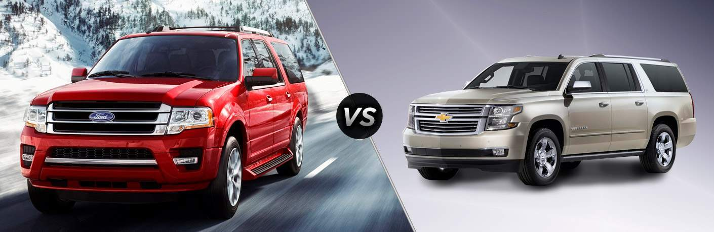2018 Ford Expedition MAX vs 2018 Chevy Suburban