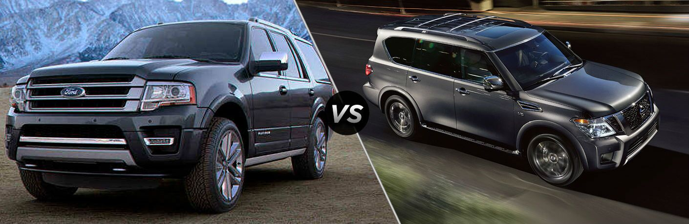 2018 Ford Expedition vs 2018 Nissan Armada
