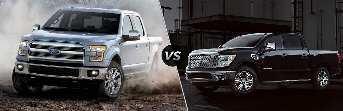 2018 Ford F-150 vs 2018 Nissan Frontier