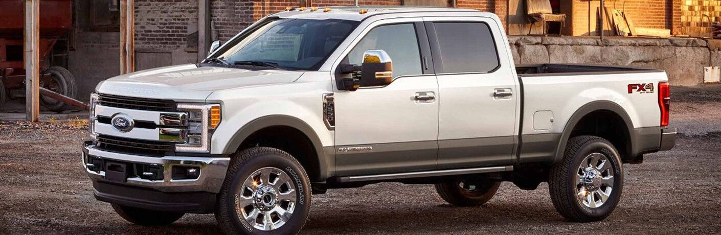 2018 Ford F-350 side profile