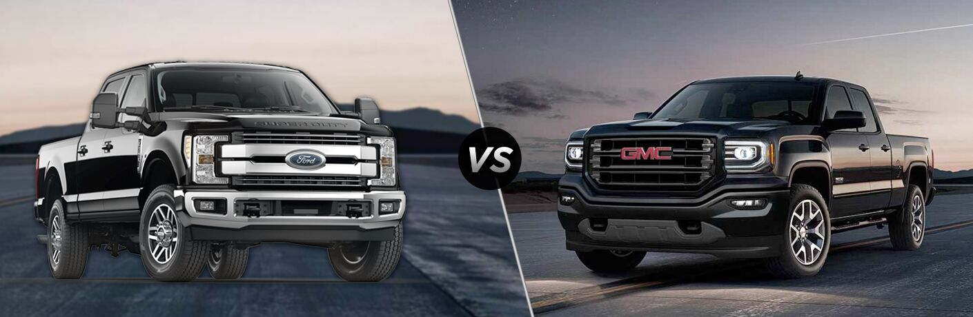 2018 Ford F-350 Super Duty vs 2018 GMC Sierra 3500