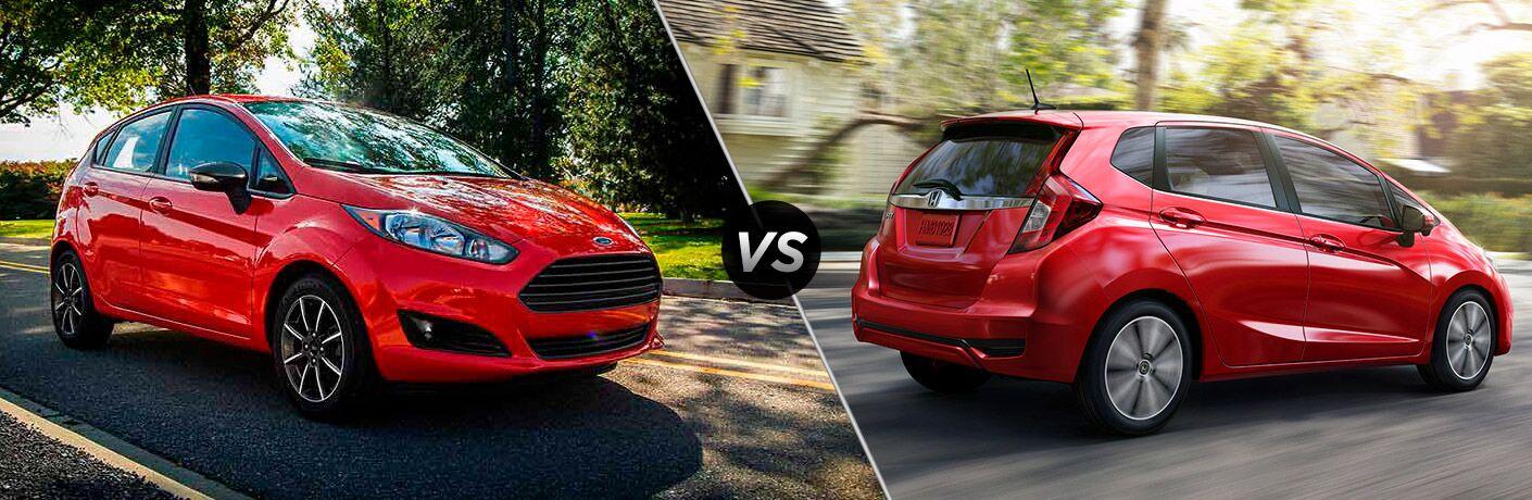 2018 Ford Fiesta vs 2018 Honda Fit