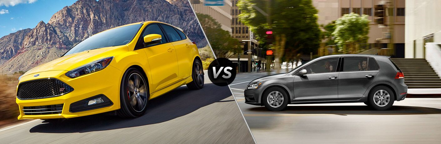 2018 Ford Focus vs 2018 Volkswagen Golf