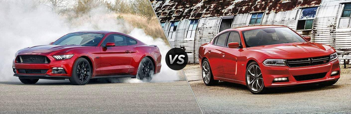 2018 Ford Mustang vs 2018 Dodge Charger
