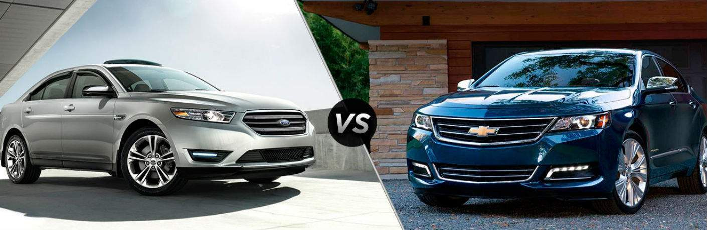 2018 Ford Taurus vs 2018 Chevrolet Impala