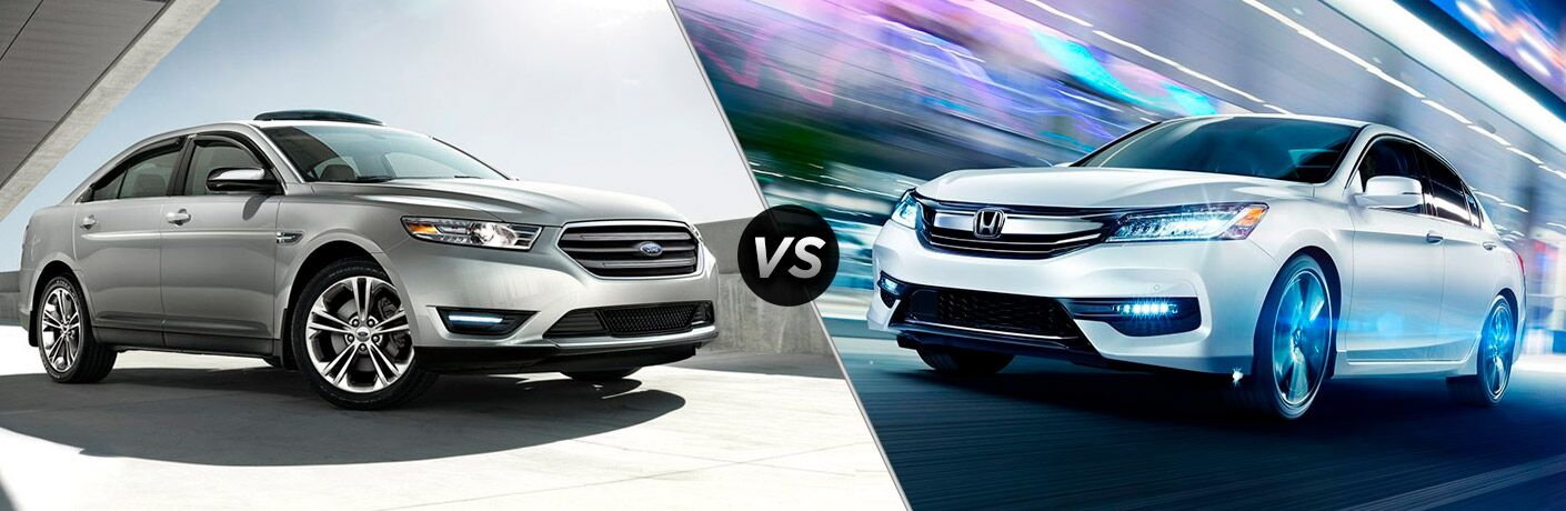 2018 Ford Taurus vs 2018 Honda Accord