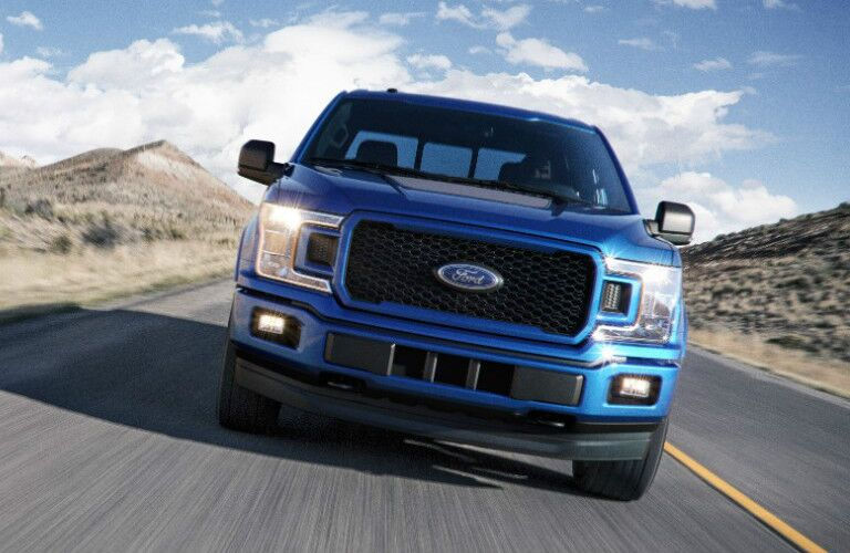 2018 Ford F-150 Diesel front grille