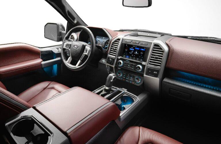 2018 Ford F-150 Diesel interior