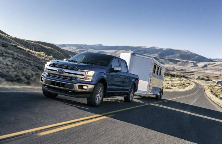 2018 Ford F-150 Diesel towing