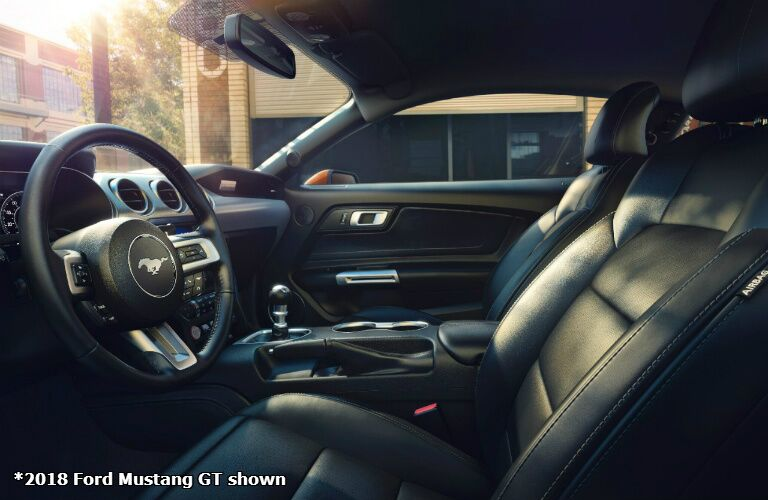 2018 Ford Mustang GT interior drivers seat