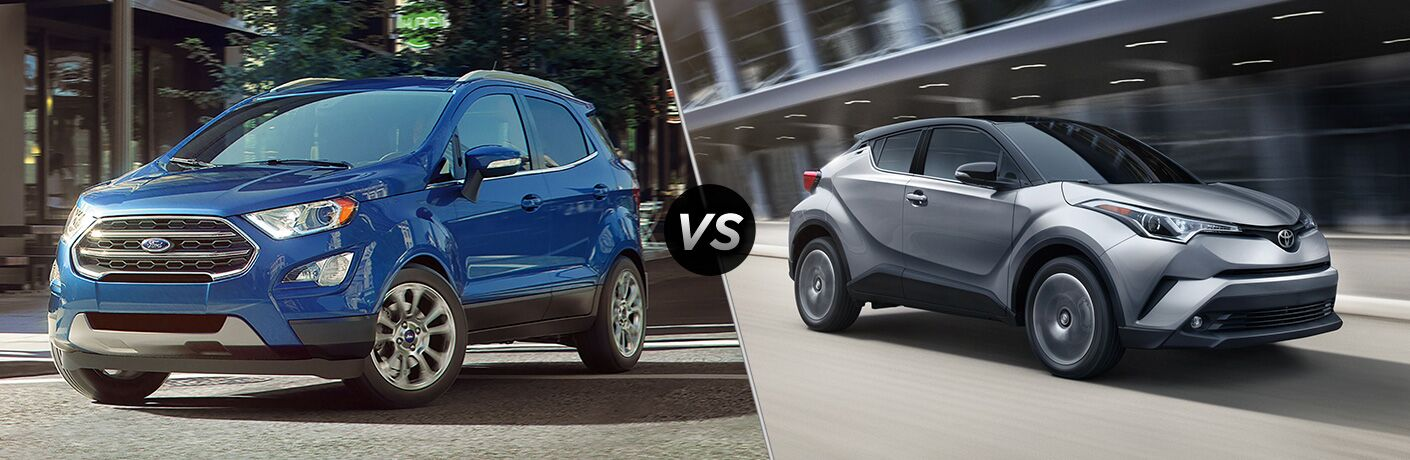 2019 Ford EcoSport vs 2019 Toyota C-HR
