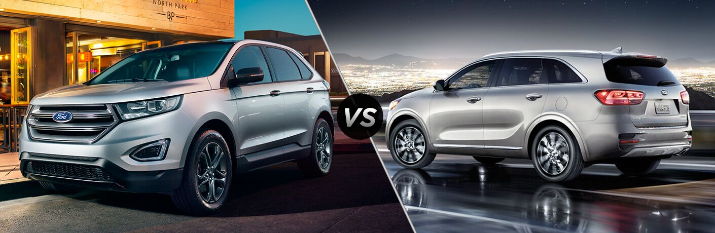2019 Ford Edge vs 2018 Kia Sorento